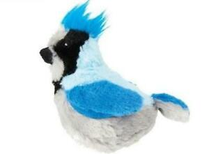 Ethical Spot Catnip Singing Song Bird Cat Toy Bluejay with sound motion activate