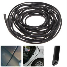 Black Rubber Seal Guard Strip U Shape Car Door Edge Side Protector Anti Scratch