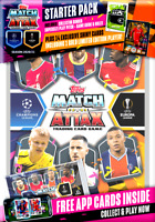 2020 2021 Match Attax UEFA Champions League Soccer Starter Pack Binder 14 Cards