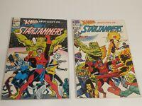 X-Men Spotlight on... Starjammers #1 & 2 (1990, Marvel) Lot