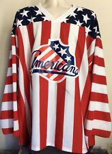 Rochester Americans Jersey XXL AHL Hockey Amerks Flag 2XL Minor League