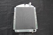 3 Row 1941 - 1946 Chevy Pickup Truck Aluminum Radiator Small Block Chevy Outlets