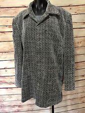 Pronti By Phita Womens Size L Fashion Blazer Jacket Multi Fabric Pattern Blk/Wht
