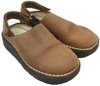 Faro by Gulliver Toddler Unisex Boys Girls Brown Nubuck Clogs Shoes Size 7M