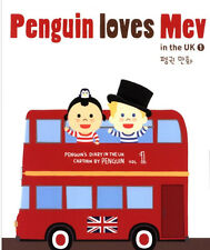 [Penguin Loves Mev in the UK 1 ] Hangul English Book Korean Webtoon Comicbook