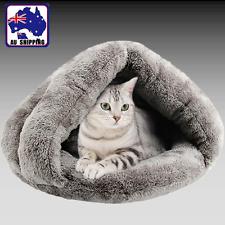 Pet Dog Cat Kitten Puppy House Nest Bed Cave Sleeping Mat Soft Warm PDBE50593