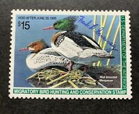 WTDstamps - #RW61 1994 - US Federal Duck Stamp - NG - Signed