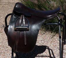 """Blue Ribbon Cutback Saddleseat Saddle 18"""""""