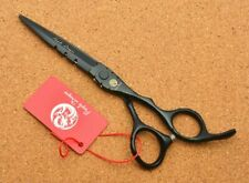 5.5 Japan Black Hairdressing Scissors Cutting Thinning Scissors Professional