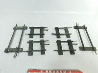 BI747-0,5# 6x Märklin Spur 1 Ausgleichsstück/Gleis gerade für Uhrwerk-Betrieb