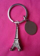 ENGRAVED / PERSONALIZED FREE Eiffel Tower / Paris Key Chain