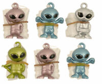 12 Parachute Alien - Pinata Toy Loot/Party Bag Fillers Childrens/Kids