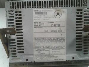 Audio Equipment Radio Receiver Am-fm-stereo-cd Fits 05-07 XTERRA 997753