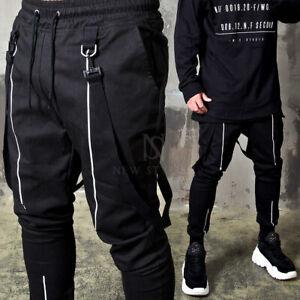 Las Mejores Ofertas En Para Hombre Pantalones Con Tirantes Ebay