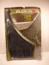 VINTAGE BLACK CLASSIC CAR & TRUCK SPLASH GUARDS BY ALLISON ETHYL VINYL ACETATE!