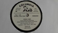The Marlin Sisters - 78rpm single 10-inch – Columbia D.J. #12411-F Potato Chips