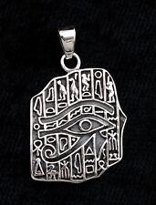 Pendentif Pierre de Rosette- en Argent 925-4.3g-bijoux Egyptien -W7 9981