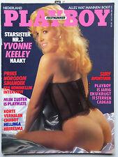 Playboy NL, 5/1987,  Nastassia Kinski, Corinne Cléry, Yvonne Keeley, Anna Clark