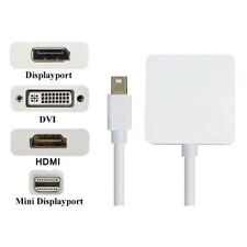 MINI Display Port Thunderbolt ad HDMI DVI DP Adattatore per Macbook Pro Aria Imac