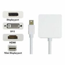 Mini DP Thunderbolt to HDMI DVI DP Adapter 3 in 1 For Microsoft surface pro 3 2