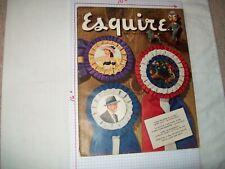 Esquire Magazine 10/49 Al Moore fiction art pinups VF Condition