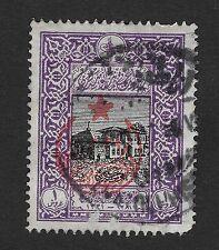 Turkey 1916 1 Pia  Overprinted Used (BX1)