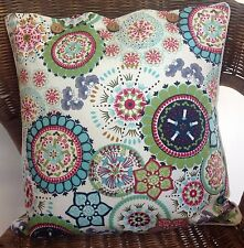 Cushion Cover Wildflower Blue Decorator Scatter Throw - Chair Sofa Couch Daybed