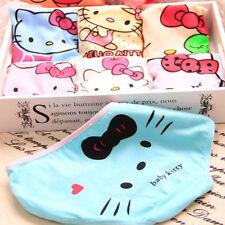 Women's 12pcs Color Random Pants Cat Kitty Cotton Cartoon Briefs Underwear Girl
