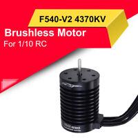 F540-V2 3300/4370KV Sensorless Brushless  Waterproof Motor For 1/10 RC Car Truck