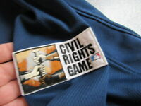 2007 MLB CIVIL RIGHTS GAME CLEVELAND INDIANS PLAYER/COACH ISSUED MAJESTIC SHIRT