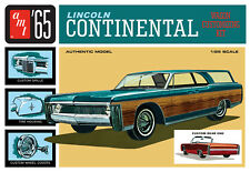 AMT 1/25 '65 Lincoln Continental Wagon Customizing PLASTIC MODEL KIT 1081