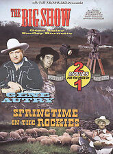 The Big Show/Springtime In The Rockies (DVD)--GENE Autry, Smiley Burnette