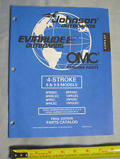 Johnson Evinrude 4 Stroke 8HP, 9.9HP Outboard Boat Motor Parts Catalog 438990