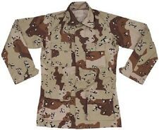 US Army 6 color Desert camouflage BDU Wüsten camo DCU Jacke shirt Medium Regular