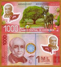 Costa Rica, 1000 Colones 2009 (2011), P-274a First Polymer, A-Series UNC