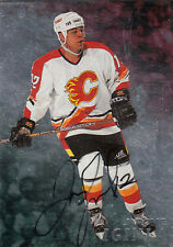 JEROME IGINLA 1998 IN THE GAME CERTIFIED AUTOGRAPH