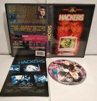 HACKERS DVD (Livret inclus) - Pal Zone 2 - Comme neuf
