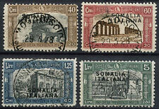 Italian Somaliland 1927 SG#104-107, 1st National Defence Used Set #A92232