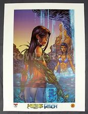 "Michael Turner Witchblade/Fathom #25B 18x24"" Cover Art Print Sara Pezzini Aspen"