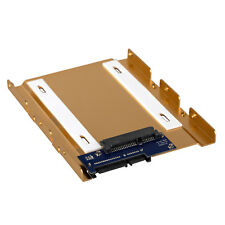 """2.5 to 3.5"""" SSD HDD Aluminum Mount SATA 3 Connector PC Server Bracket Hot Swap"""