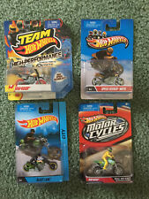 Hot Wheels Motocycles - set of 4 -  New in Package