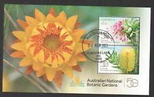 AUSTRALIA 2020 50 YEARS AUSTRALIAN NATIONAL BOTANIC GARDENS SOUVENIR SHEET USED