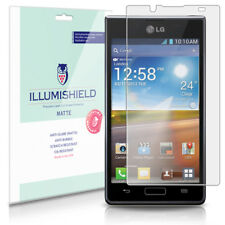 iLLumiShield Matte Screen Protector w Anti-Glare/Print 3x for LG Optimus L7