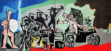 PICASSO - THE COMING BATTLE - ORIGINAL LITHOGRAPH - 1954 -  FREE SHIPPING US !!!