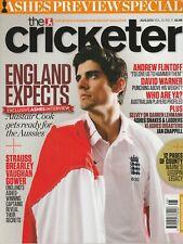 Cricketer Magazine (Wisden) - August 2013 - Freddie Flintoff Alastair Cook