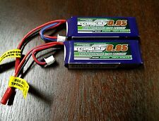 2 New Turnigy nano-tech 950mAh 2S 25C-50 Battery Lipo Blade 200QX CX2 EFLB8002SJ