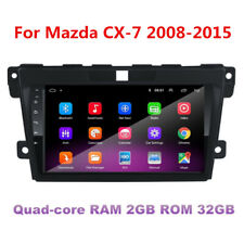 """9"""" Android 9.1 Car Stereo Radio GPS MP5 Player FM 2GB+32GB For Mazda CX-7 08-12"""