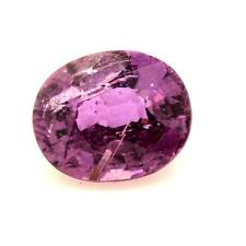 SAPPHIRE VIOLET. 0,81 cts. Non heated. Madagascar With Certificate