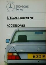 Mercedes 200-300E Series Special Equipment & Accessories Guide.
