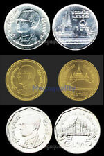 SET THAI COIN 1, 2, 5 BAHT NEW CONDITION FREE SHIPPING